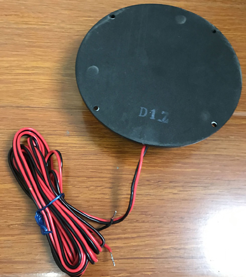 Waterproof 50w vibration tactile transducer