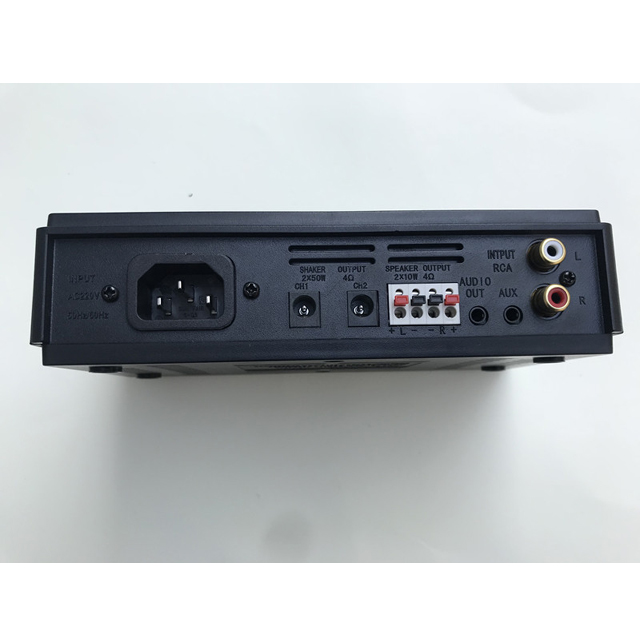 Blue tooth control amp for bass shaker